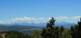 The San Juan Mountain Range